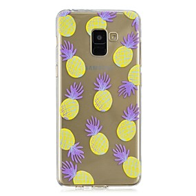 voordelige Galaxy A3(2016) Hoesjes / covers-hoesje Voor Samsung Galaxy A3 (2017) / A5 (2017) / A8+ 2018 Transparant / Patroon Achterkant Fruit Zacht TPU