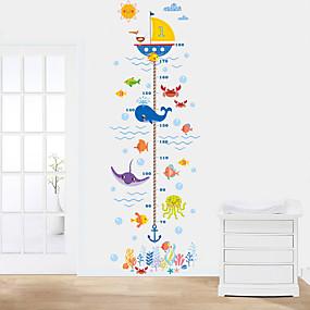 ieftine Casă & Grădină-Autocolante de Perete Decorative / Adezive de Măsurat Înălțimea - Autocolante perete plane Animale Sufragerie / Dormitor / Baie
