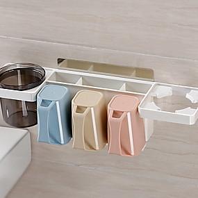 cheap Bathroom Gadgets-Toothbrush Mug Multifunction Modern Plastic 1pc - tools Bathroom Decoration
