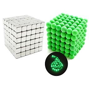 ieftine Jucării & Hobby-uri-432 pcs Jucării Magnet bile magnetice Jucării Magnet Lego Super Strong pământuri rare magneți Magnet Neodymium Magnetic Pătrat Stres și anxietate relief Birouri pentru birou Ameliorează ADD, ADHD