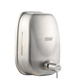 cheap Bathroom Gadgets-Soap Dispenser New Design / Cool Contemporary Stainless Steel / Iron 1pc - Bathroom Wall Mounted