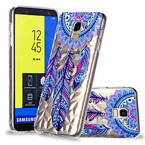 voordelige Galaxy J3(2017) Hoesjes / covers-hoesje Voor Samsung Galaxy J7 (2017) / J6 / J5 (2017) Patroon Achterkant Dromenvanger Zacht TPU
