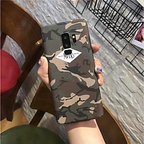 voordelige Galaxy S7 Edge Hoesjes / covers-hoesje Voor Samsung Galaxy S9 / S9 Plus / S8 Plus Mat Achterkant Camouflage Kleur Hard PC