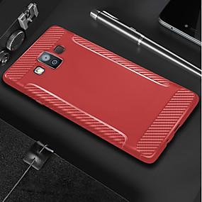 halpa Galaxy S -sarjan kotelot / kuoret-Etui Käyttötarkoitus Samsung Galaxy J7 Prime / J7 Duo Himmeä Takakuori Yhtenäinen Pehmeä TPU varten S9 / S9 Plus / S8 Plus