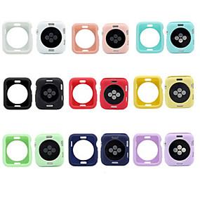 billige Apple Watch-etuier-Etui Til Apple Watch Apple Watch Series 4/3/2/1 Silikone Apple