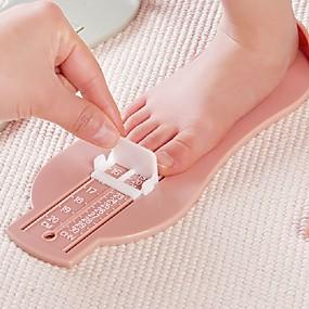 povoljno Gadgeti za kupaonicu-dječji dječji stopalo mjera rekviziti dječja stopala mjerač dječja obuća veličina mjerenje ravnalo alat toddler cipele fitinzi slučajni