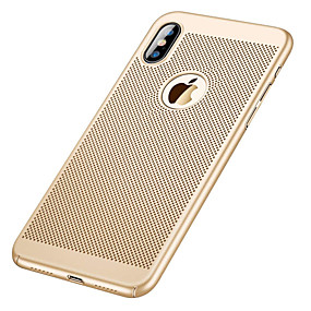 abordables Coques d'iPhone-Coque Pour Apple iPhone XR / iPhone XS Max Ultrafine Coque Couleur Pleine Dur PC pour iPhone XS / iPhone XR / iPhone XS Max
