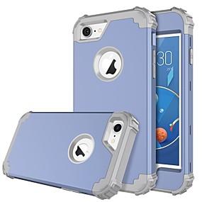 levne iPhone pouzdra-BENTOBEN Carcasă Pro Apple iPhone 8 / iPhone 7 Nárazuvzdorné Celý kryt Jednobarevné Pevné Silikon / PC pro iPhone 8 / iPhone 7