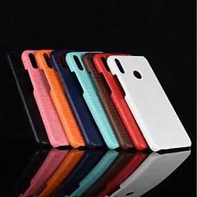 voordelige Huawei Honor hoesjes / covers-hoesje Voor Huawei Huawei Honor 10 / Honor 9 / Huawei Honor 9 Lite Mat Achterkant Effen Hard PU-nahka
