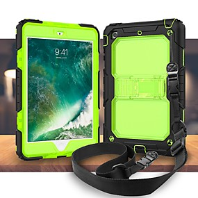 billige Cooho®-Cooho Etui Til Apple iPad Air 2 / iPad (2017) Stødsikker / Støvsikker / Vandafvisende Fuldt etui Rustning Hårdt Silikone / PC for iPad Mini 5 / iPad New Air (2019) / iPad Mini 3/2/1 / iPad Pro 10.5