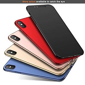 levne iPhone pouzdra-pouzdro pro Apple iphone xr xs xs max ultra tenký / matný zadní kryt pevný barevný pevný disk pro iPhone x 8 8 plus 7 7plus 6s 6s plus se 5 5s