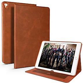 billige Cooho®-Cooho Etui Til Apple iPad Pro 10.5 / iPad Pro 9.7 Kortholder / Stødsikker / Vandafvisende Fuldt etui Ensfarvet Blødt PU Læder / TPU for iPad Air / iPad 4/3/2 / iPad Mini 3/2/1
