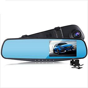 billige Bilelektronikk-D790s 1080p Bil DVR 140 grader Bred vinkel 4.3 tommers Dash Cam med G-Sensor / Parkeringsmodus / Bevegelsessensor Nei Bilopptaker / Loop-opptak / auto av / på / Innebygd Mikrofon / Innebygd Høytaler