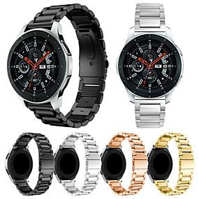 ieftine Curele Ceas pt Samsung-Uita-Band pentru Samsung Galaxy Watch 46 Samsung Galaxy Banderola Sport / Curea Milaneza Oțel inoxidabil Curea de Încheietură