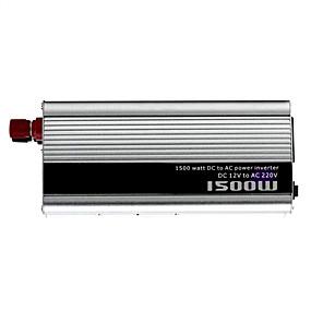 economico Inverter di alimentazione del veicolo-1500w CC 12V per inverter di potenza CA 220V - argento