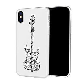 halpa iPhone 6s kotelot-Etui Käyttötarkoitus Apple iPhone XR / iPhone XS Max Kuvio Takakuori Piirretty / Punk Pehmeä TPU varten iPhone XS / iPhone XR / iPhone XS Max