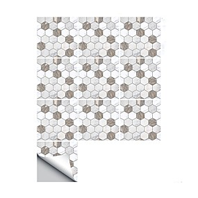 cheap Decoration Stickers-Decorative Wall Stickers - 3D Wall Stickers Abstract / Shapes Bathroom / Kitchen