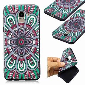voordelige Galaxy J3 Hoesjes / covers-hoesje Voor Samsung Galaxy J7 (2017) / J6 (2018) / J6 Plus Patroon Achterkant Mandala Zacht TPU