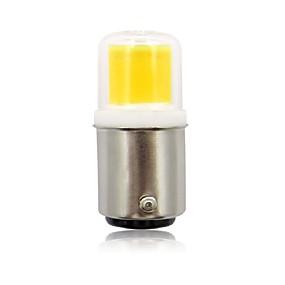 abordables Luces LED de Doble Pin-1pc 2.5 W Luces LED de Doble Pin 200 lm BA15D 1 Cuentas LED COB Nuevo diseño Blanco Cálido Blanco Fresco 110-120 V / Cañas