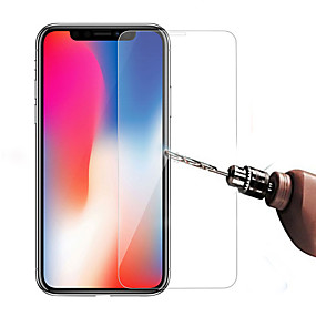 voordelige iPhone XR screenprotectors-Screenprotector voor Apple iPhone XS / iPhone XR / iPhone XS Max Gehard Glas 1 stuks Voorkant screenprotector High-Definition (HD) / 9H-hardheid / 2.5D gebogen rand