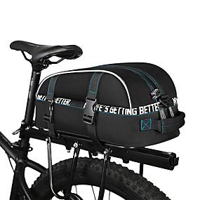 billiga Cykeltillbehör-ROSWHEEL 8 L Väskor till pakethållaren Vattentät Regnsäker Multi lager Cykelväska 600D Polyester Cykelväska Pyöräilylaukku Cykling / Cykel / Reflexremsa