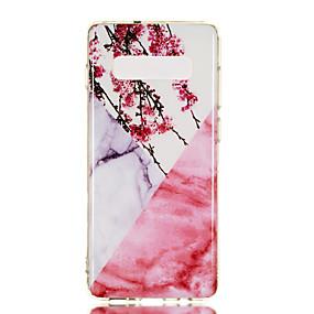 voordelige Galaxy S7 Edge Hoesjes / covers-hoesje Voor Samsung Galaxy S9 / S9 Plus / S8 Plus IMD / Patroon Achterkant Marmer Zacht TPU