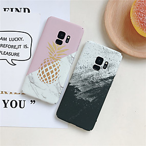 voordelige Galaxy S7 Edge Hoesjes / covers-hoesje Voor Samsung Galaxy S9 / S9 Plus / S8 Plus Ultradun / Patroon Achterkant Effen / Fruit Hard PC