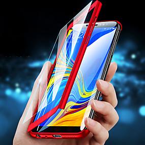 voordelige Galaxy S7 Hoesjes / covers-hoesje Voor Huawei S9 / S9 Plus / S8 Plus Schokbestendig Volledig hoesje Effen Hard PC