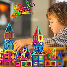 olcso Modellek és építőjáték-Mágneses blokk Mágnescserép Mágneses játékok 30 pcs összeegyeztethető Legoing Mágneses Fiú Lány babák' Játékok Ajándék / Építőkockák