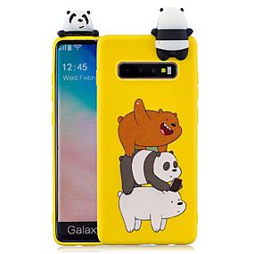 voordelige Galaxy S7 Edge Hoesjes / covers-hoesje Voor Samsung Galaxy S9 / S9 Plus / S8 Plus Patroon Achterkant Cartoon Zacht TPU