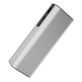 Недорогие 7500–10000 мАч-LETANG 8000 mAh Назначение Внешняя батарея Power Bank 5 V Назначение 2.1 A Назначение Зарядное устройство с кабелем