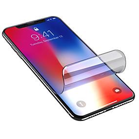 billige Skærmbeskyttelse til iPhone 8b Plus-Skærmbeskytter for Apple iPhone XS / iPhone XR / iPhone XS Max TPU Hydrogel 1 stk Helkrops- og skærmbeskyttelse High Definition (HD) / Eksplosionssikker / Ultratynd