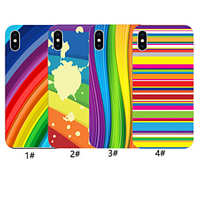 abordables Fundas para iPhone X-estuche para apple iphone xr / iphone xs patrón máximo contraportada gradiente de color suave tpu para iphone x xs 8 8plus 7 7plus 6 6plus 6s 6s plus