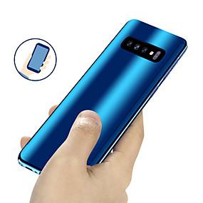 voordelige Galaxy S7 Hoesjes / covers-hoesje Voor Samsung Galaxy S9 / S9 Plus / S8 Plus Beplating / Spiegel / Ultradun Volledig hoesje Effen Hard PC
