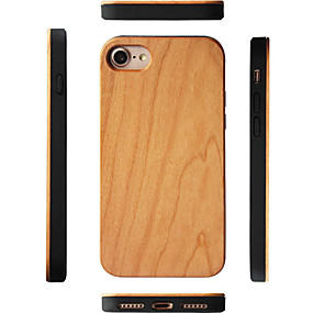abordables Coques d'iPhone-Coque Pour Apple iPhone XS Max / iPhone 6 Antichoc Coque Apparence Bois Dur En bois / Bambou pour iPhone XS / iPhone XR / iPhone XS Max