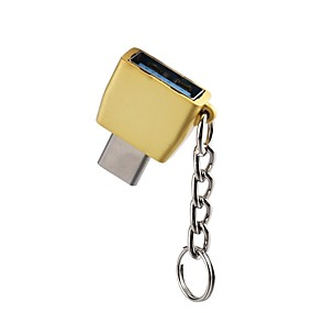 olcso Google-OTG / C típusú Adaptor OTG cink ötvözet USB kábeladapter Kompatibilitás Samsung / Huawei / LG