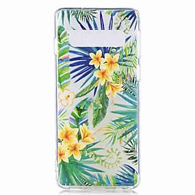voordelige Galaxy S7 Edge Hoesjes / covers-hoesje Voor Samsung Galaxy S9 / S9 Plus / S8 Plus Transparant / Patroon Achterkant Boom Zacht TPU