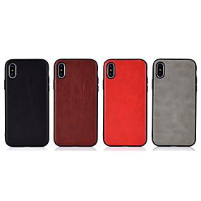 billige Apple-tilbehør-taske til Apple iPhone xr / iphone xs max ultra-tynd bagcover solid farvet soft tpu til iphone x xs 8 8plus 7 7plus 6 6s 6plus 6splus
