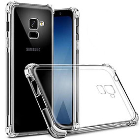cheap Galaxy S Series Cases / Covers-Case For Samsung Galaxy S8 Plus / S8 Dustproof / Transparent Back Cover Transparent Soft TPU for S9 / S9 Plus / S8 Plus