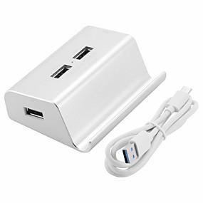 お買い得  USB ハブ & スイッチ-Unestech DSZD5115-T511C USB 3.0タイプC to USB 3.0 USBハブ 5 ポート ハイスピード / OTG