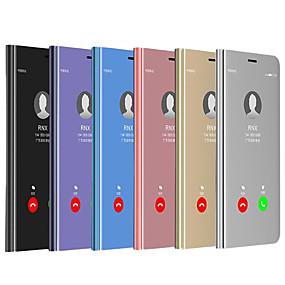 halpa Galaxy S -sarjan kotelot / kuoret-CISIC Etui Käyttötarkoitus Samsung Galaxy Galaxy S10 E / Galaxy S10 5G Iskunkestävä / Vedenkestävä / Peili Suojakuori Yhtenäinen Kova PU-nahka / PC varten S9 / S9 Plus / S8 Plus