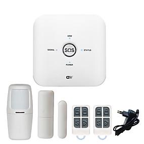 baratos Segurança-2019 suporte de tuya novo sistema de segurança em casa wifigsm casa alarme diy sem fio wifi alarme / casa inteligente sem fio de segurança 433 mhz