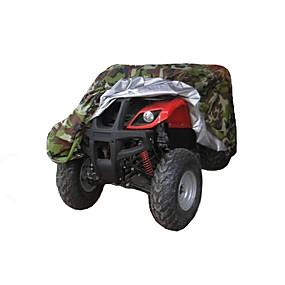 voordelige Motorhoezen-all weather atv cover duurzame waterdichte winddichte uv-bescherming buggy opslag universele pasvorm camouflage