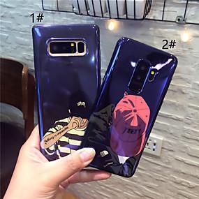 voordelige Galaxy S7 Edge Hoesjes / covers-hoesje Voor Samsung Galaxy S9 / S9 Plus / S8 Plus IMD / Patroon Achterkant Cartoon Zacht TPU