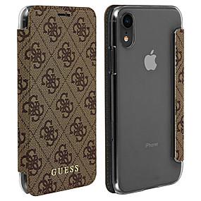levne iPhone pouzdra-Carcasă Pro Apple iPhone XR Pouzdro na karty / Flip Celý kryt Geometriské vzory Pevné PU kůže pro iPhone XR
