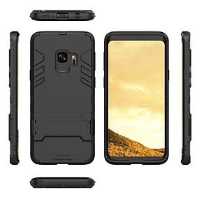 Χαμηλού Κόστους Θήκες / Καλύμματα Galaxy S Series-2 σε 1 εξαιρετικά λεπτό shockproof πλήρη προστατευτική θήκη με βραχίονα για το gadget samsung s9 / s9 plus