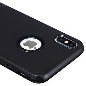 olcso iPhone tokok-Case Kompatibilitás Apple iPhone XS Max Ütésálló / Porálló Fekete tok Egyszínű / Vonalak / hullámok Puha TPU / Silica Gel mert iPhone XS Max