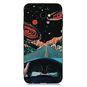 voordelige Galaxy J7(2017) Hoesjes / covers-hoesje voor Samsung Galaxy J4 (2018) / J6 (2018) Patroon / Mat / Schokbestendig Achterkant Sky Soft TPU voor Galaxy J4 Plus (2018) / J6 Plus (2018) / M10 / M20 / M30 / J330 / J530 / J730 / J2 pro 2018
