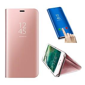voordelige Galaxy S6 Edge Plus Hoesjes / covers-hoesje Voor Samsung Galaxy S9 / S9 Plus / S8 Plus Schokbestendig / met standaard Volledig hoesje Effen Hard PU-nahka / Muovi