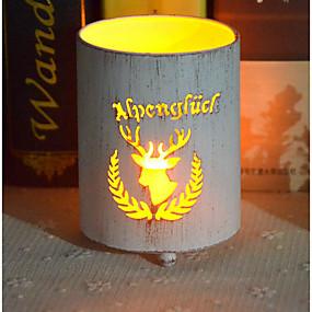 baratos Casa & Cozinha-Estilo Europeu Ferro Suporte de Vela Candelabro 1pç, Candle / Candle Holder